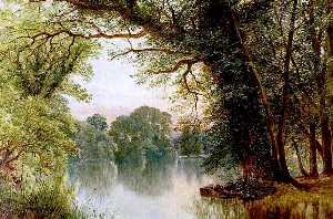 William Harold Cubley - The Lake, Highfields, Nottingham