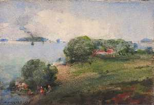 William Henry Holmes - View on the Potomac