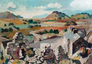 John Albert Cooper - Stone Cottages