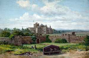 Harold Hopps - Leasowe Castle, Wirral, in 1896