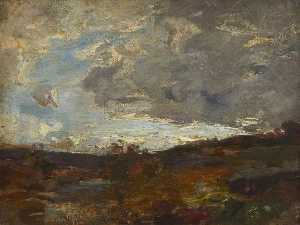 William Miller Frazer - Gathering Cloud – Pentland Side