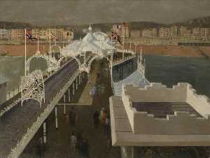 John Arthur Malcolm Aldridge - Palace Pier, Brighton, East Sussex