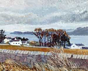 Mavis Blackburn - Menai Straits from Llanfaes