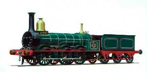 Henry Maurice Whitcombe - Manchester, Sheffield and Lincolnshire Railway 0–6–0 Goods Engine No.49 'Sphynx'
