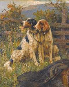 Arthur Wardle - Gun dogs