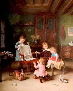Andre Henri Dargelas - The Happy Family