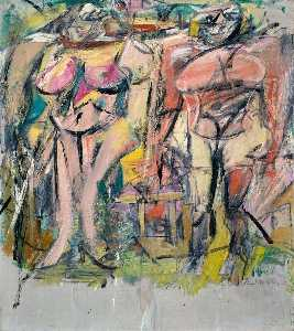 Willem De Kooning - Two Women in the Country