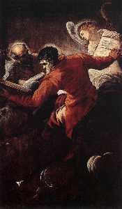 Jacopo Tintoretto - The Evangelists Luke and Matthew